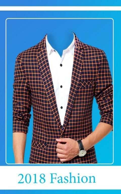 Men Pro Shirt Photo Suit screenshot 3