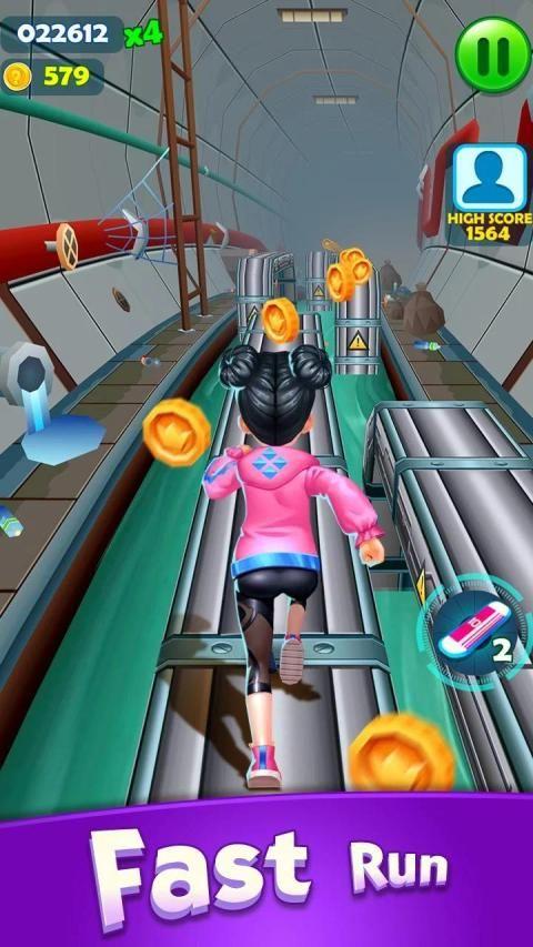 Subway Princess Runner स्क्रीनशॉट 4