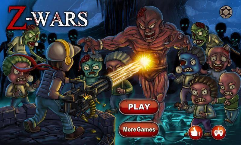 Z-Wars - Zombie War 5 تصوير الشاشة
