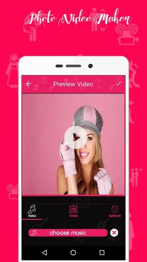Photo Video Maker With Music 3 تصوير الشاشة