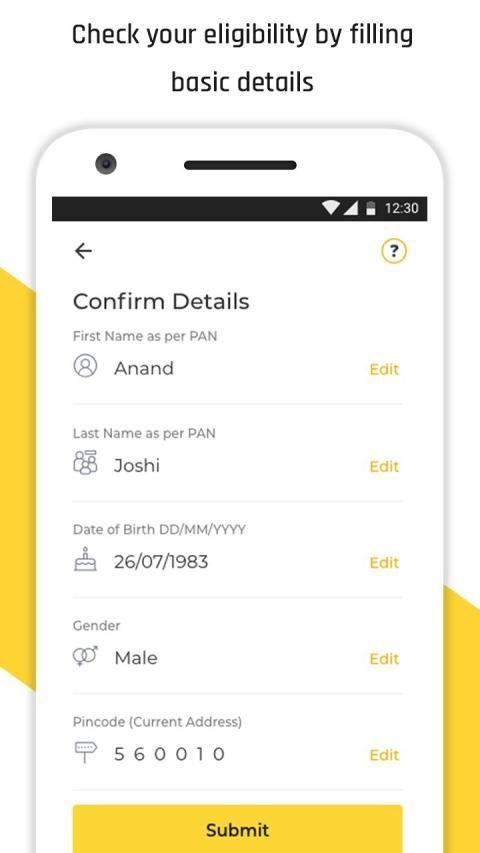 Instant Personal Loan App Online Loan - KreditBee скриншот 3