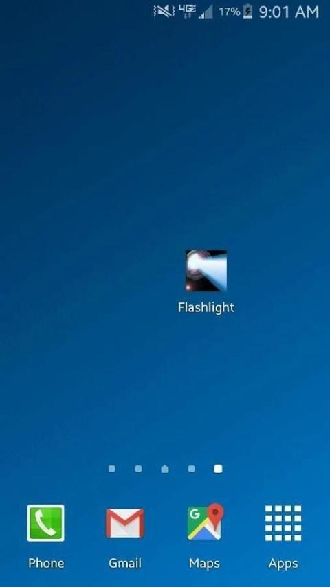 Flashlight for Samsung Galaxy 2 تصوير الشاشة