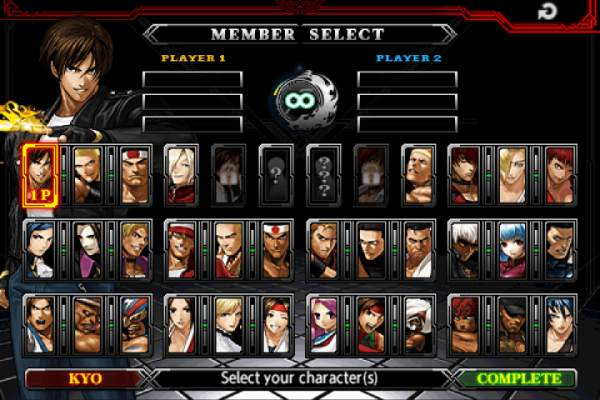 THE KING OF FIGHTERS-A 2012(F) screenshot 11