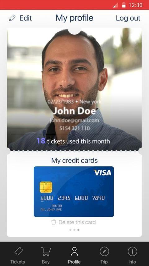 PweeP - Transport Tickets screenshot 2