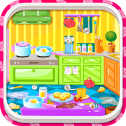 House Clean Up Rooms أيقونة