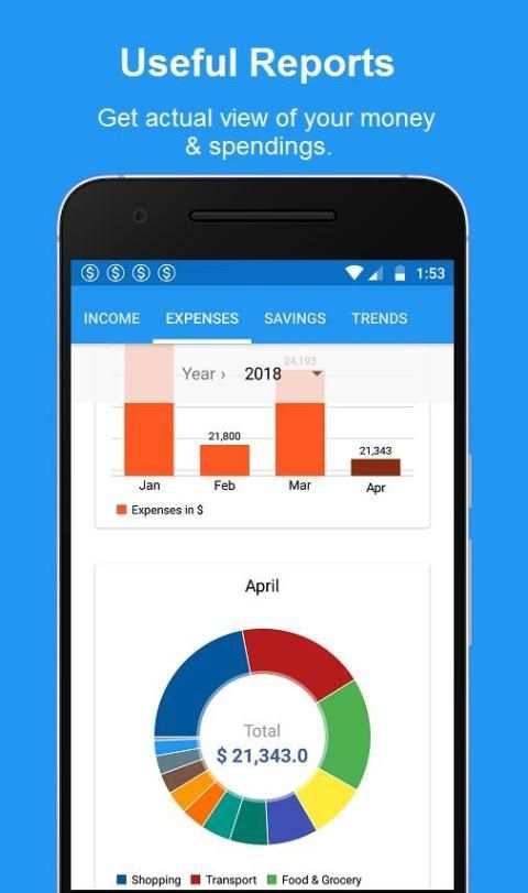 Bills Reminder, Budget & Expense Manager App screenshot 3