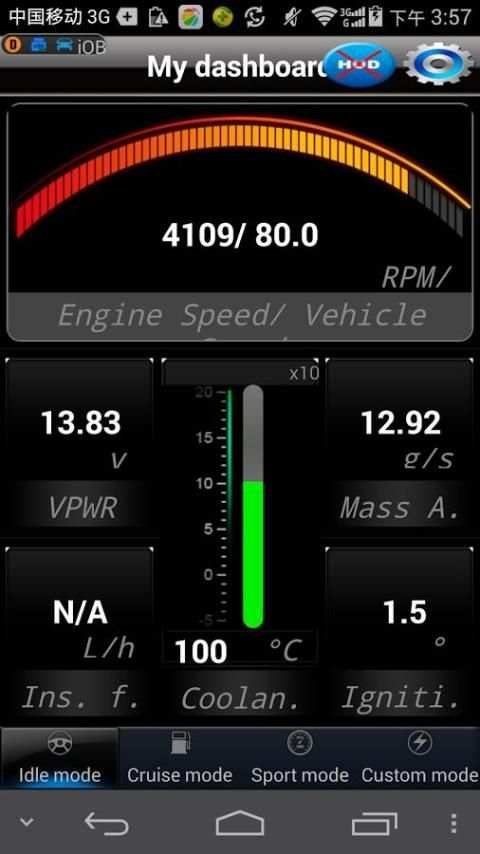iOBD2 screenshot 2