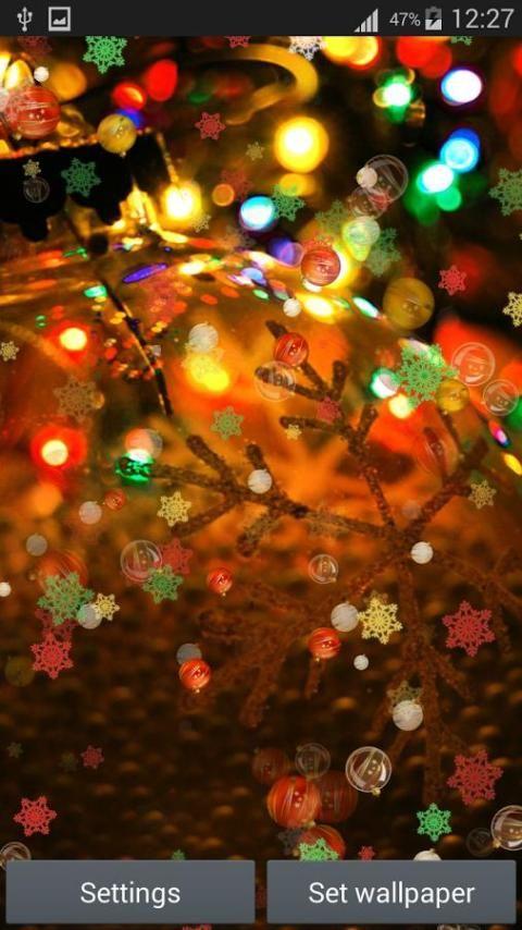 سنة جديدة سعيدة لايف للجدران 1 تصوير الشاشة