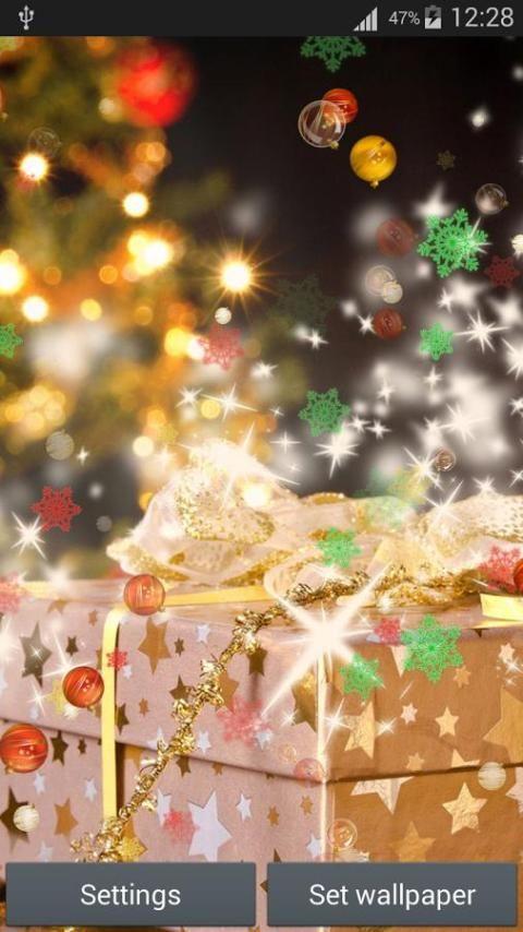 سنة جديدة سعيدة لايف للجدران 2 تصوير الشاشة