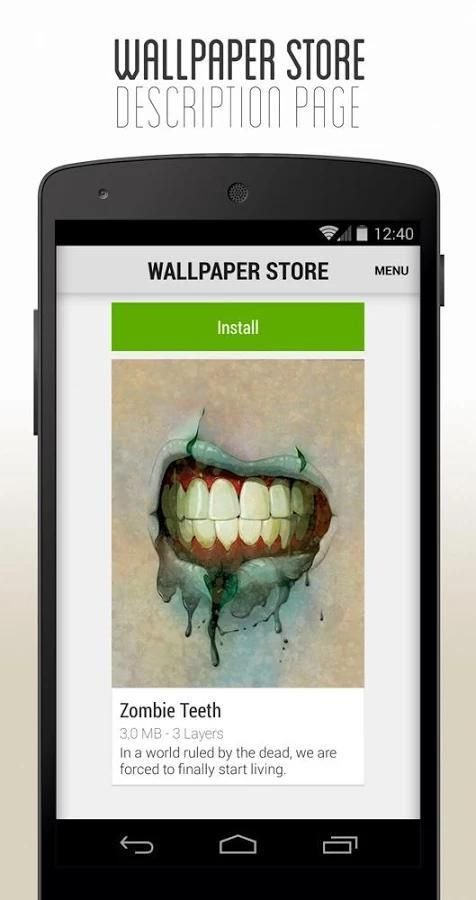 3D Parallax Wallpaper 5 تصوير الشاشة