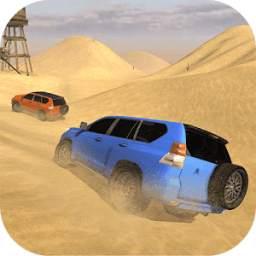 Luxury LX Prado Desert Driving