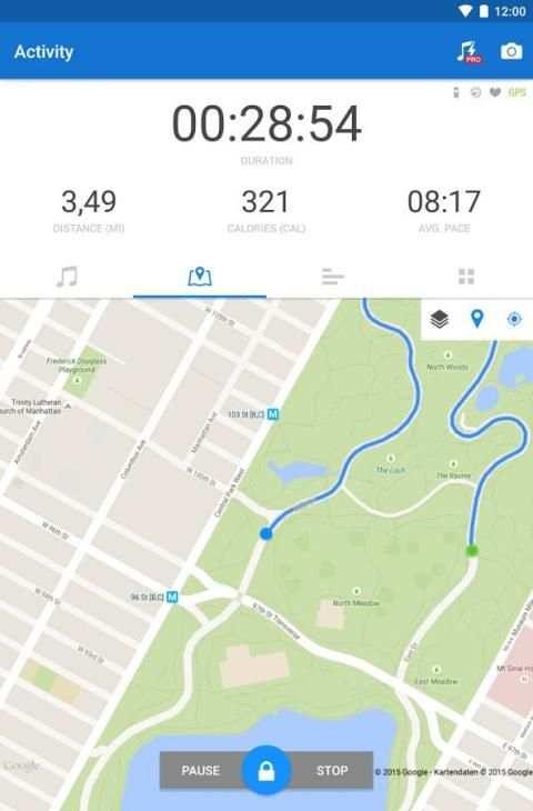 Runtastic Running & Fitness screenshot 19