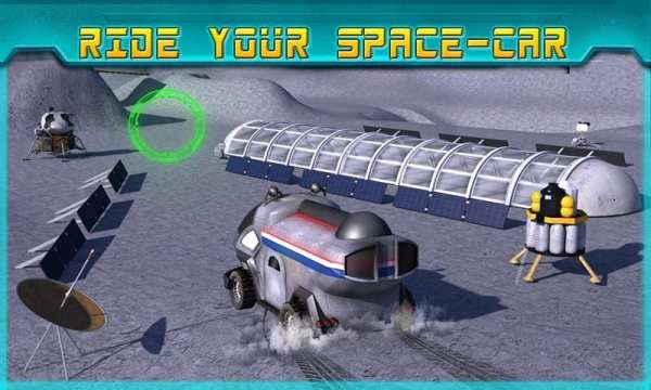 Space Moon Rover Simulator 3D screenshot 14