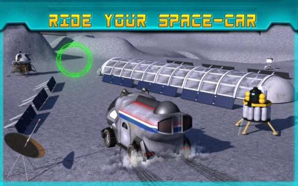 Space Moon Rover Simulator 3D screenshot 9