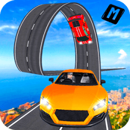 Real Stunt Amazing Car Road Race Top Drive icon