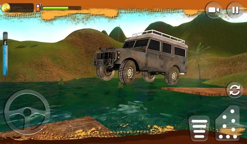 Offroad Muscle Truck Driving Simulator 2017 screenshot 3