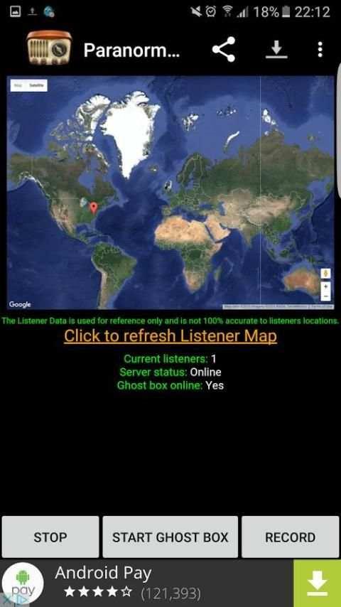 Paranormal Hidup Ghost Box screenshot 4