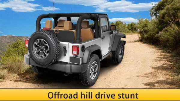 Offroad Dangerous jeep drive screenshot 3