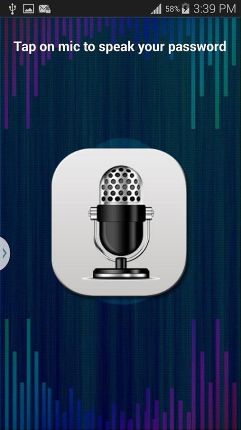 Voice Lock Screen 1 تصوير الشاشة