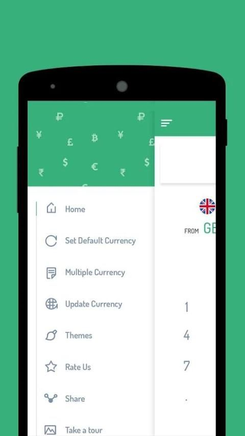 Currency Converter Free - Live Money Exchange Rate screenshot 1