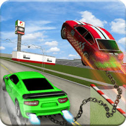 Highway Chained Car Race icon