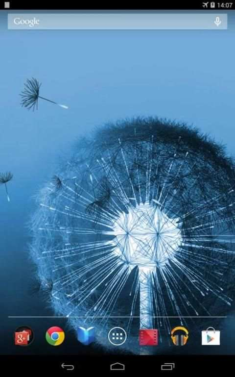 Dandelion Live Wallpaper 1 تصوير الشاشة