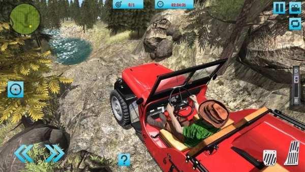 Off-Road Hill Climb 4x4 Jeep: Mountain Adventure screenshot 5