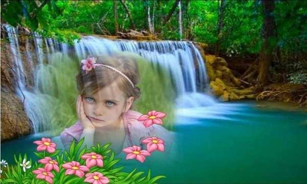 Transparent waterfall frames screenshot 3