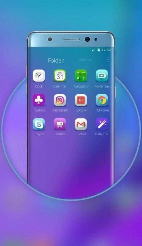 Launcher for Galaxy Note7 screenshot 1