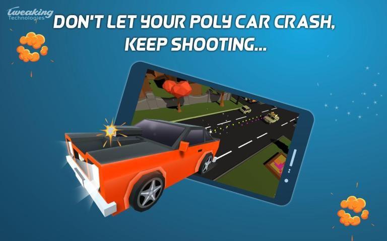 Poly Drive - Endless Power Attack screenshot 1