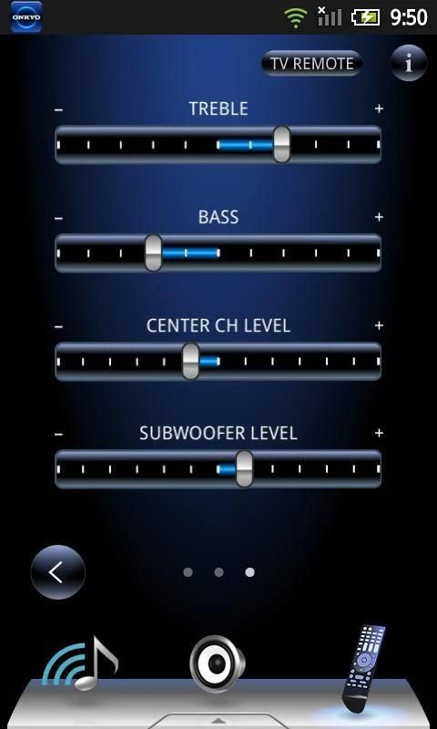 Onkyo Remote for Android 2.3 4 تصوير الشاشة