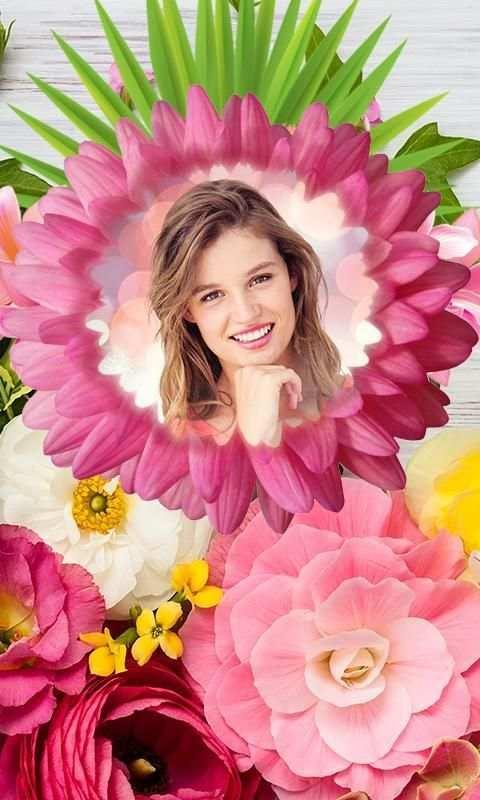 Photo Flower Frames screenshot 1