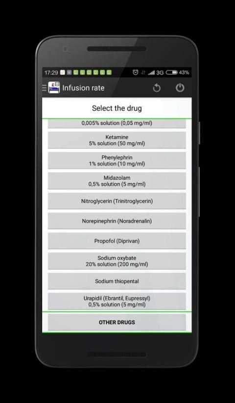 Infusion rate calculator screenshot 10