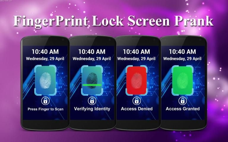 Fingerprint Lock Screen Prank screenshot 6