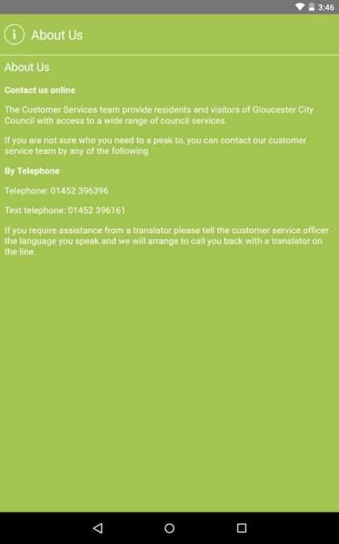 Gloucester City Council screenshot 8