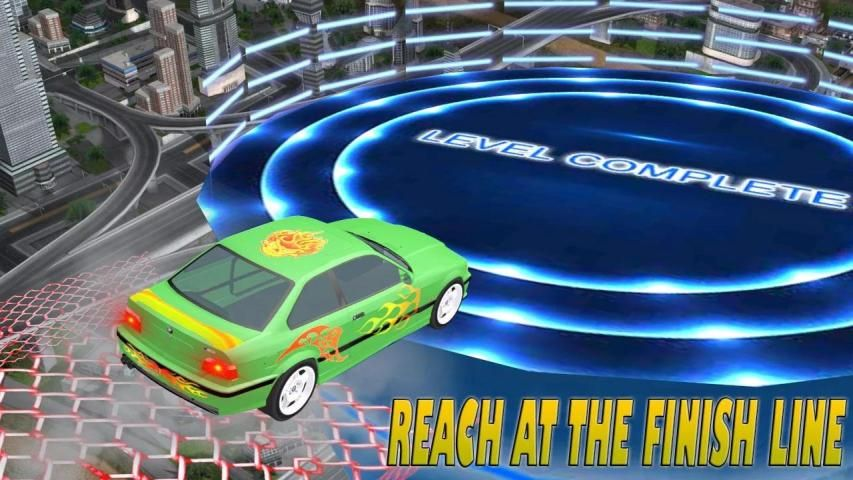 Real Stunt Amazing Car Road Race Top Drive screenshot 6