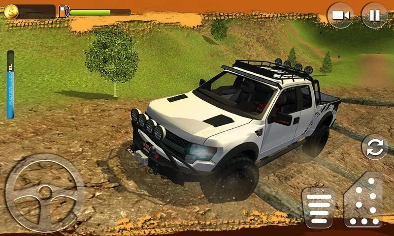 Offroad Muscle Truck Driving Simulator 2017 screenshot 10