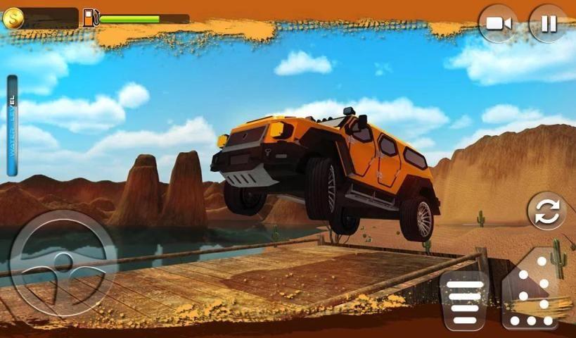 Offroad Muscle Truck Driving Simulator 2017 screenshot 4