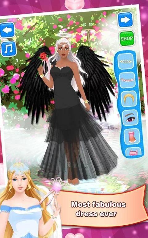 Angel Fairy - Salon Girls Game screenshot 2