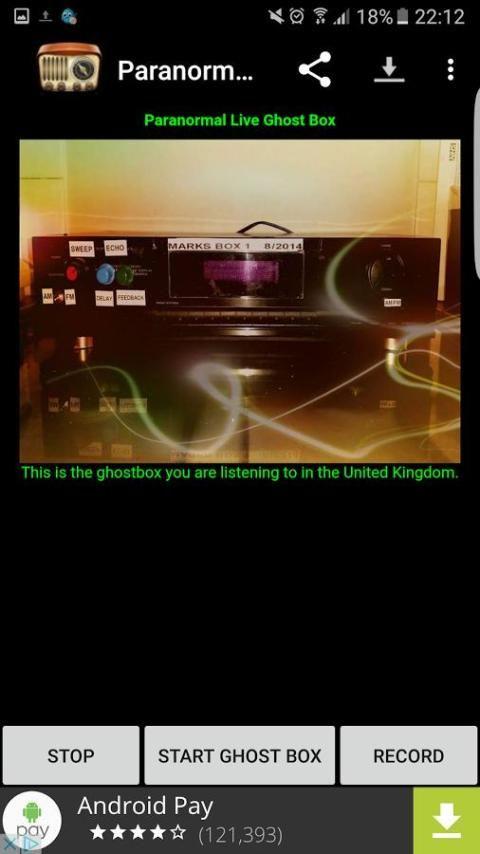 Paranormal Live Ghost Box скриншот 3
