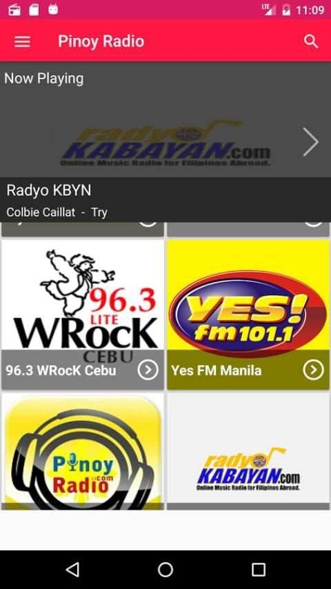 Pinoy Radio (Radyo Tagalog) screenshot 5