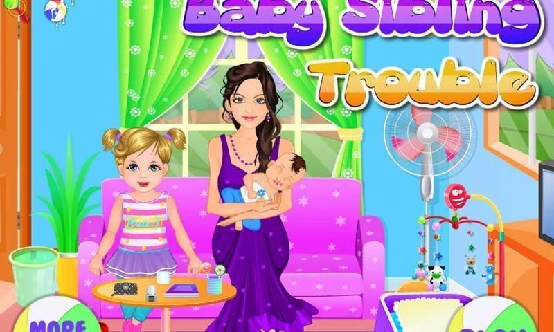 Baby sibling trouble for kids screenshot 9