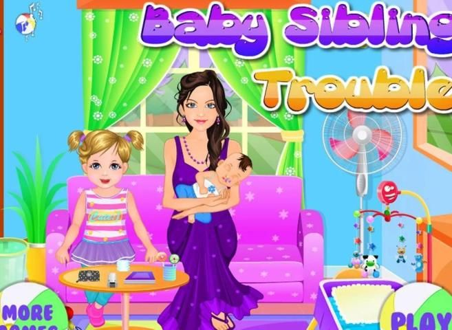 Baby sibling trouble for kids screenshot 3