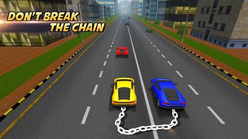 Highway Chained Car Race screenshot 7