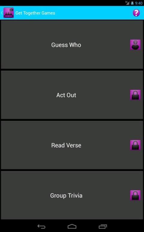 JW get-together games-free&pay screenshot 3