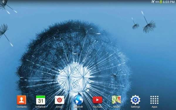 Dandelion Live Wallpaper screenshot 2