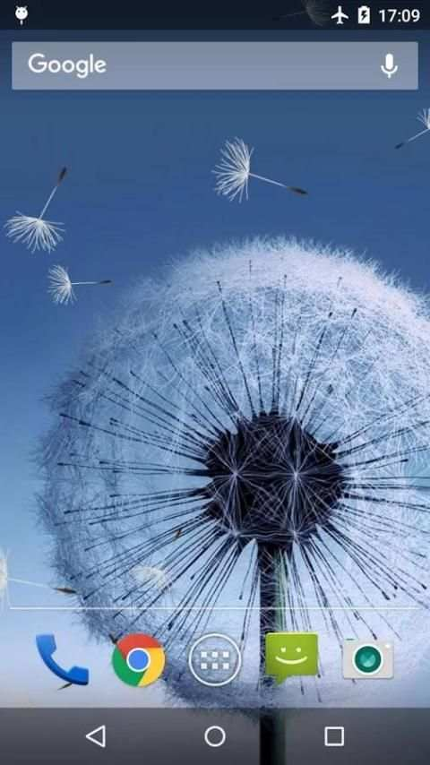 Dandelion Live Wallpaper 7 تصوير الشاشة