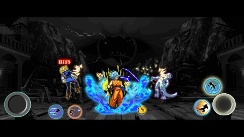 Z Fighter Super Goku : Dragon Saiyan Battle screenshot 3