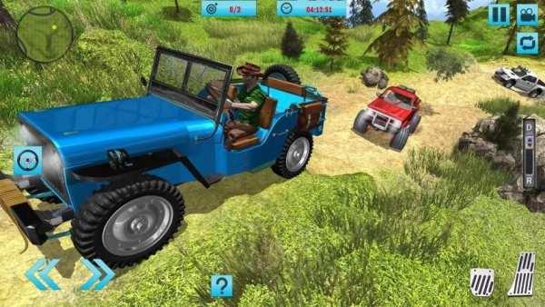 Off-Road Hill Climb 4x4 Jeep: Mountain Adventure screenshot 3
