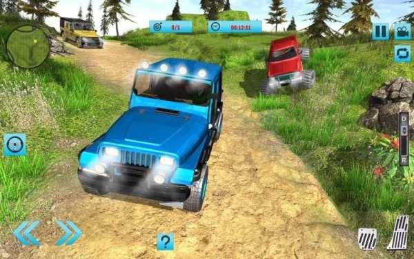 Off-Road Hill Climb 4x4 Jeep: Mountain Adventure screenshot 7